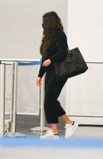 SELENA GOMEZ Arrives at JFK Airport in New York 09/09/2021