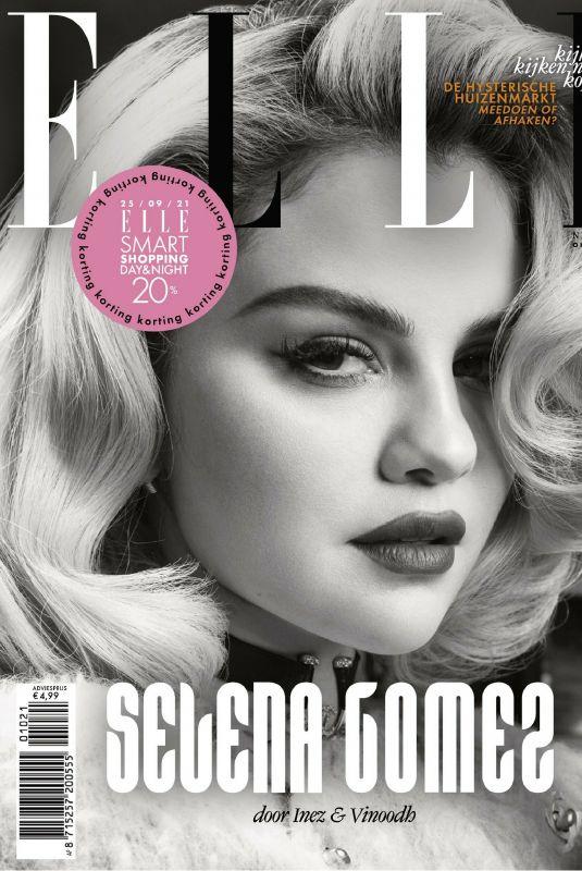 SELENA GOMEZ for Elle Magazine, Netherlands October 2021