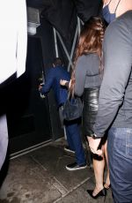 SELENA GOMEZ Leaves The Nice Guy in West Hollywood 09/16/2021