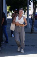 SHARNA BURGESS Arrives at Dancing With The Stars Rehearsal in Los Angeles 09/15/2021