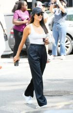 SHAY MICHEL Heading to 20th Anniversary 9/11 Memorial in New York 09/11/2021