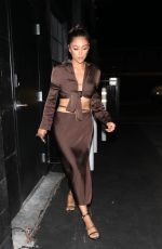 SHAY MITCHELL Night Out in Los Angeles 09/22/2021