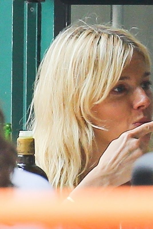 SIENNA MILLER Out for Lunch at Bar Pitti in New York 09/22/2021