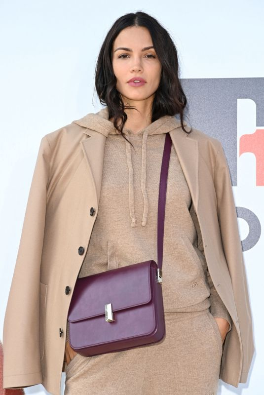 SOFIA RESING Arrives at Boss Fashion Show in Milan 09/23/2021