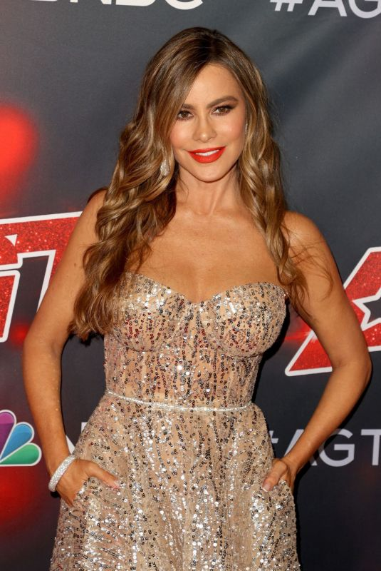 SOFIA VERGARA at America's Got Talent, Season 16 Party in Hollywood 09/15/2021