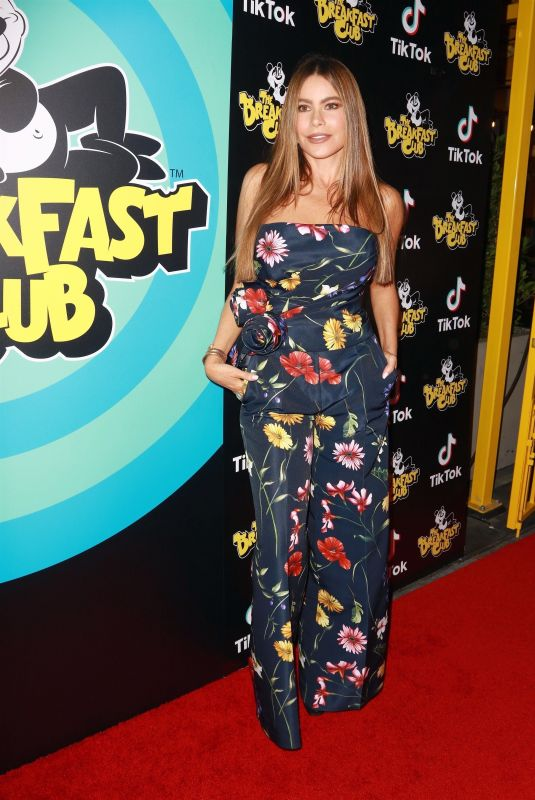 SOFIA VERGARA at The Breakfast Club Grand Opening in Hollywood 09/21/2021