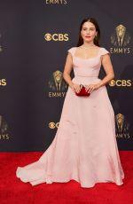 SOPHIA BUSH at 73rd Primetime Emmy Awards in Los Angeles 09/19/2021