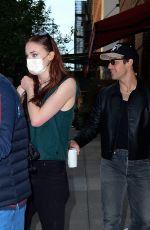 SOPHIE TURNER and Joe Jonas Leaves Greenwich Hotel in New York 09/25/2021