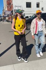 SOPHIE TURNER and Joe Jonas Out in New York 09/19/2021