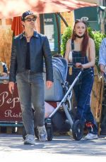 SOPHIE TURNER and Joe Jonas Out with Their Baby in New York 09/25/2021
