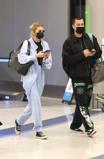 STELLA MAXWELL at LAX Airport in Los Angeles 09/15/2021