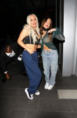TANA MONGEAU and BROOKE SCHOFIELD at BOA Steakhouse in Los Angeles 09/22/2021