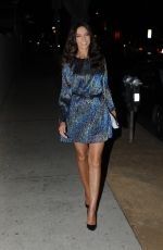 TERRI SEYMOUR Leaves Christmas in September Toy Drive Event in West Hollywood 09/21/2021