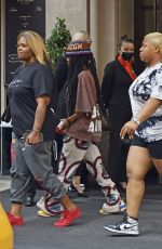 TEYANA TAYLOR Out and About in New York 09/12/2021