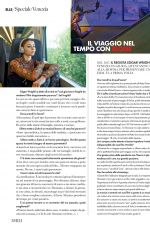 THOMASIN MCKENZIE in Elle Magazine, Italy September 2021