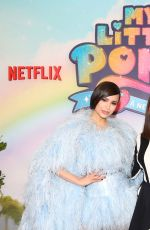 VANESSA HUDGENS and SOFIA CARSON at My Little Pony: A New Generation Photocall in Los Angeles 09/19/2021