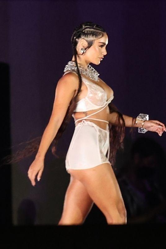 VANESSA HUDGENS at Rihanna