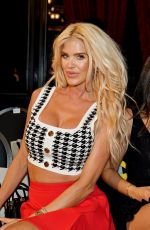 VICTORIA SILVSTEDT at AADNEVIK Show at London Fashion Week 09/19/2021