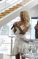 VICTORIA SILVSTEDT at Prize Draw for Princess of Monaco Cup 09/15/2021