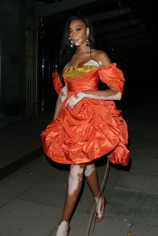 WINNIE HARLOW at GQ Awards Afterparty at 180 Strand in London 09/01/2021