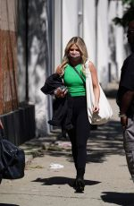 WITNEY CARSON Arrives at Dancing With The Stars Studio in Los Angeles 09/21/2021