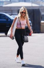 WITNEY CARSON at Dancing With The Stars Studio in Los Angeles 09/17/2021