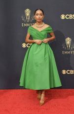 YARA SHAHIDI at 73rd Primetime Emmy Awards in Los Angeles 09/19/2021