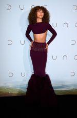 ZENDAYA at Dune Premiere in Paris 09/06/2021