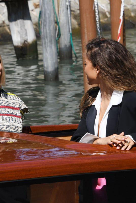 ZENDAYA COLEMAN and REBECCA FERGUSON Out at Venice Film Festival 09/03/2021