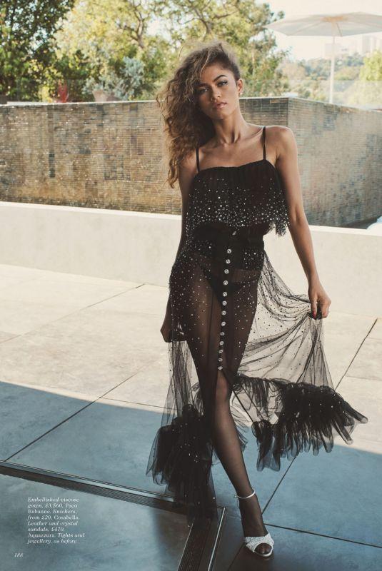 ZENDAYA in Vogue Magazine, UK October 2021 Issue