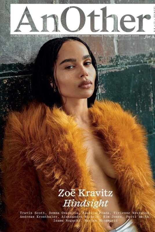 ZOE KRAVITZ in AnOther Magazine, Autumn/Winter 2021