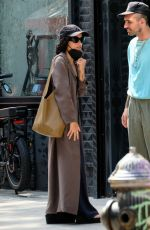 ZOE KRAVITZ Out in New York 09/14/2021