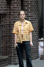 ZOEY DEUTCH on the Set of Not Okay in New York 09/14/2021