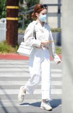 ZOEY DEUTCH Out for Coffee in Los Angeles 09/02/2021