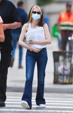 ZOEY DEUTCH Out in New York 09/03/2021