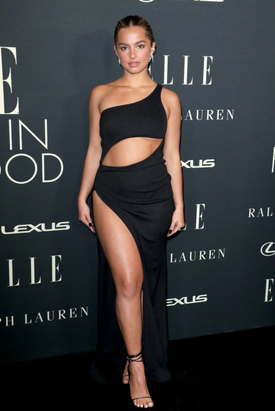 ADDISON RAE at 27th Annual Elle Women in Hollywood Celebration in Los Angeles 10/19/2021