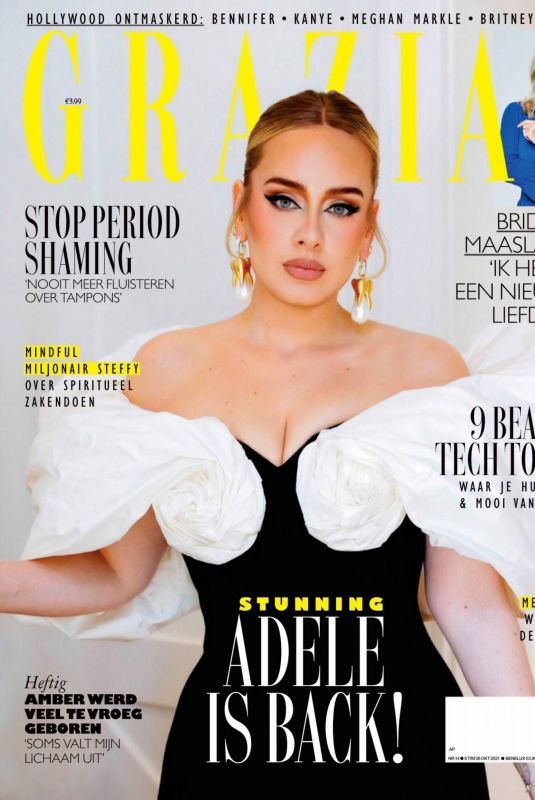 ADELE in Grazia Magazine, Netherlands October 2021