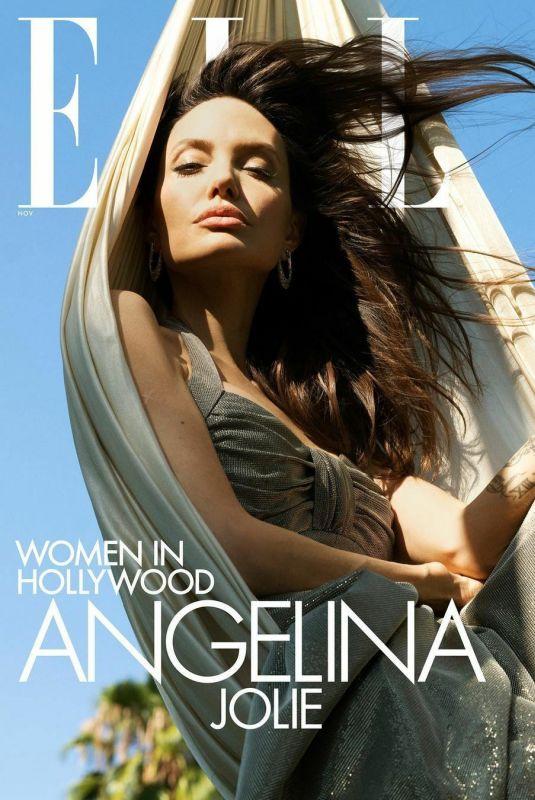 ANGELINA JOLIE for Elle Magazine, November 2021