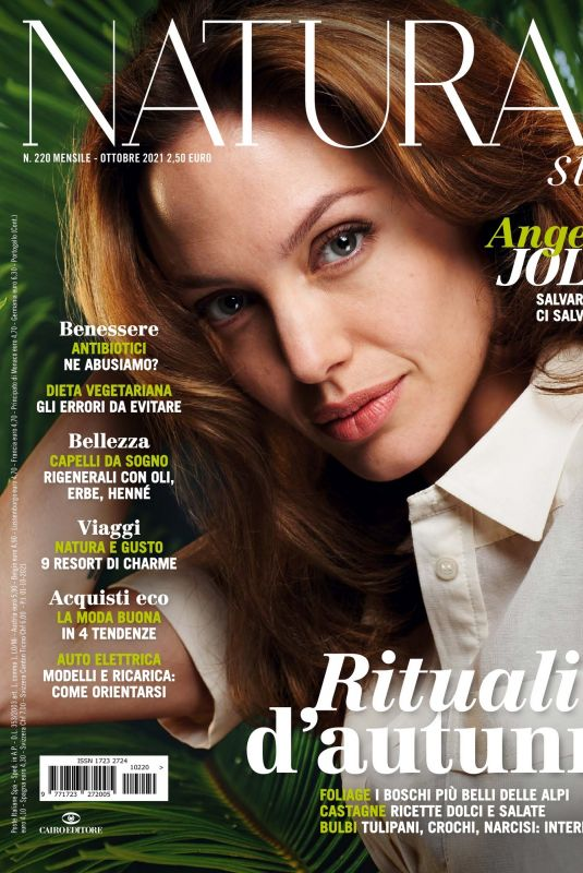 ANGELINA JOLIE in Natural Style Magazine, October 2021