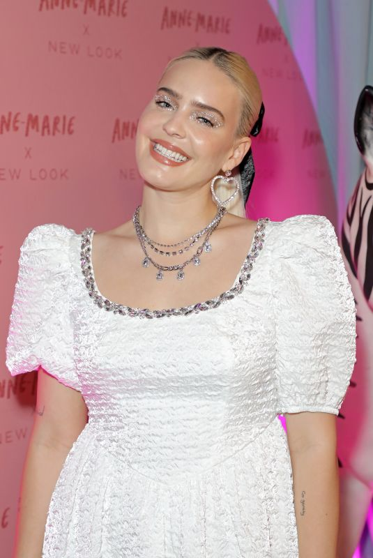 ANNE MARIE at Anne-Marie x New Look Collaboration Launch Party in London 10/07/2021