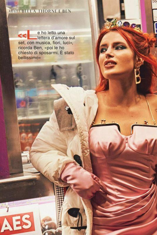 BELLA THORNE in Grazia Magazine, Italy October 2021