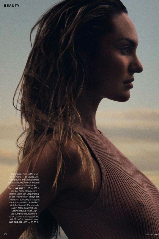 CANDICE SWANEPOEL in Vogue Magazine, Germany November 2021