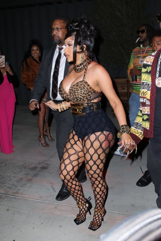 CARDI B at Her 29th Birthday Party in Los Angeles 10/11/2021