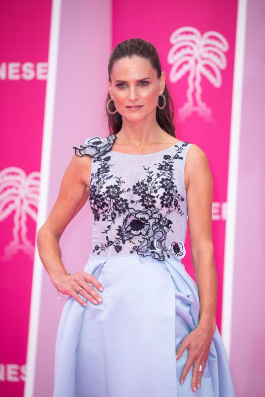 CAROLE DECHANTRE at 4th Canneseries Festival Opening Ceremony in Cannes 10/08/2021