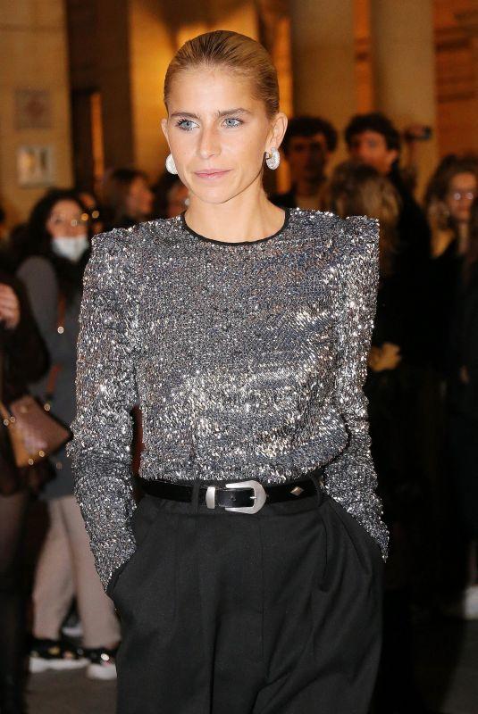 CAROLINE DAUR at Fashion Week at Domaine National du Palais Royal in Paris 09/30/2021