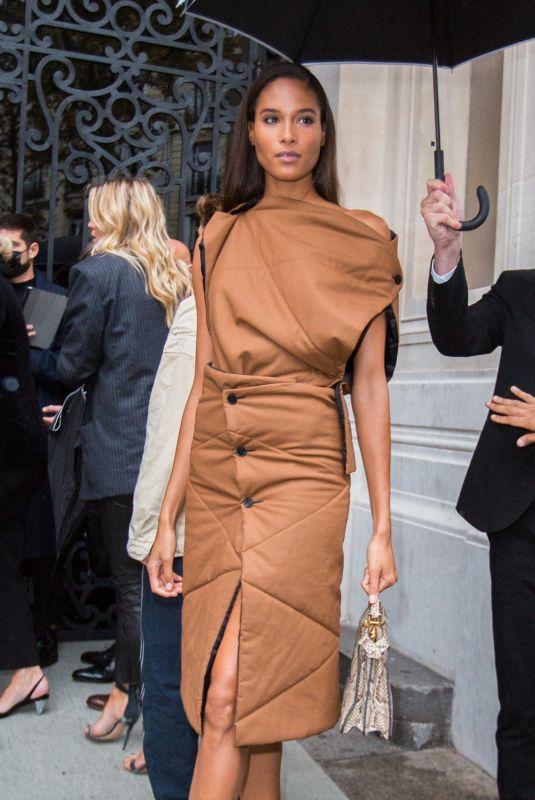 CINDY BRUNA at Vogue Paris 100th Anniversary at Paris Fashion Week 10/01/2021
