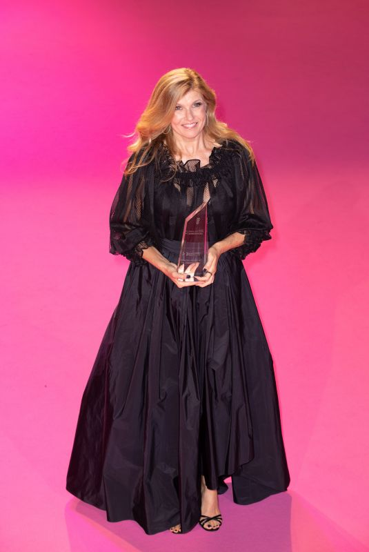 CONNIE BRITTON at 4th Canneseries Festival Opening Ceremony in Cannes 10/08/2021