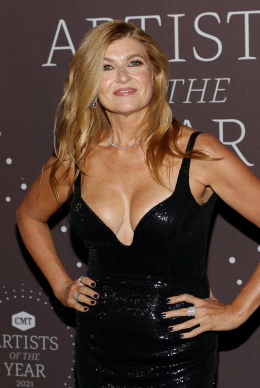 CONNIE BRITTON at CMT Artists of the Year 2021 Award Show at Schermerhorn Symphony Center in Nashville 10/13/2021