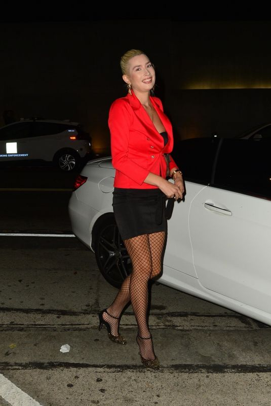 COURTNEY ANNE MITCHELL at Craig's in West Hollywood 10/05/2021