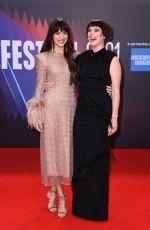 DAKOTA JOHNSON at The Lost Daughter Premiere at BFI London Film Festival 10/13/2021